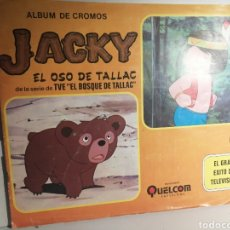 Coleccionismo Álbum: ALBUM DE CROMOS JACKY EL OSO DE TALLAC ED. QUELCOM. Lote 237412715