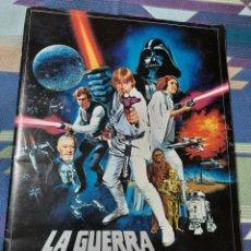 Coleccionismo Álbum: ALBUM COMPLETO GUERRA DE LAS GALAXIAS 1977. Lote 237434835