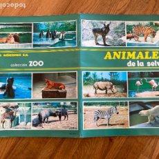 Collezionismo Álbum: ALBUM DE CROMOS COMPLETO - ANIMALES DE LA SELVA - SUSAETA - GCH. Lote 237444890