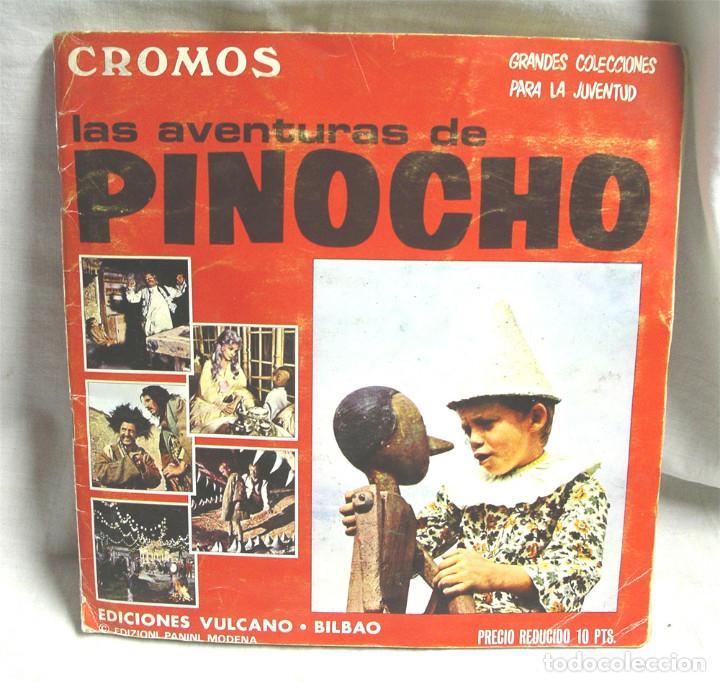 LAS AVENTURAS DE PINOCHO. EDICIONES VULCANO - BILBAO, COMPLETO 360 CROMOS (Coleccionismo - Cromos y Álbumes - Álbumes Completos)