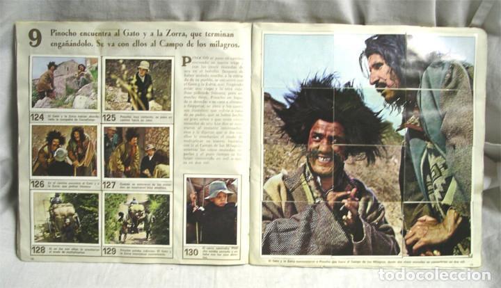 Coleccionismo Álbum: Las Aventuras de Pinocho. Ediciones Vulcano - Bilbao, completo 360 cromos - Foto 2 - 238447690