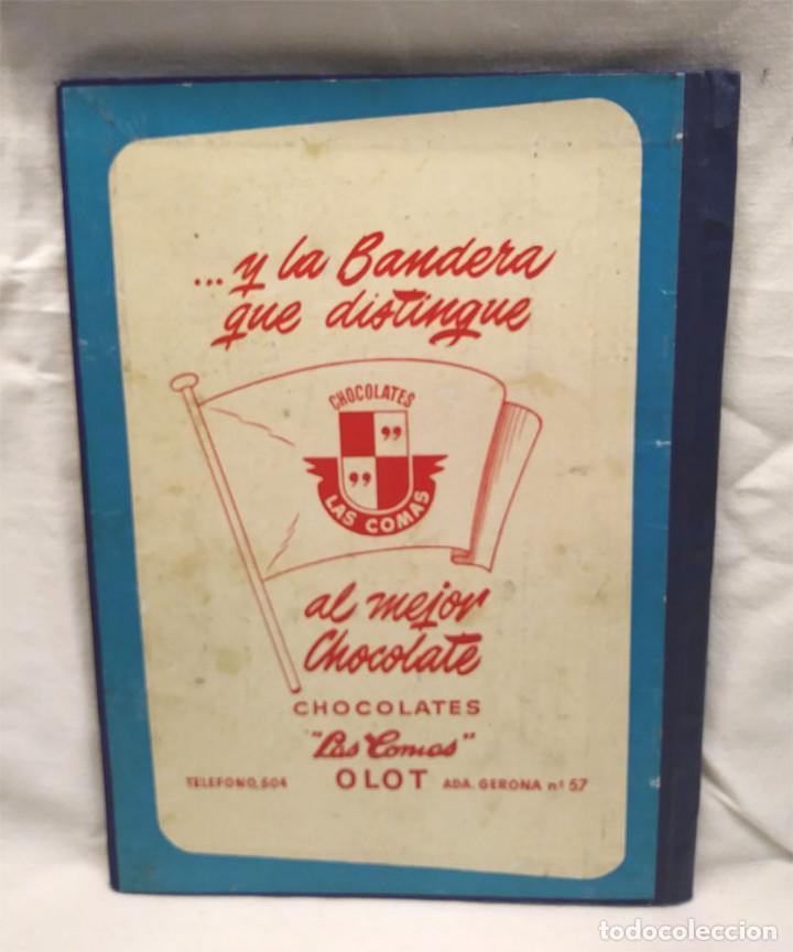 Coleccionismo Álbum: Banderas del Universo Editorial Bruguera año 1956, Encuadernado Tapa dura lomo de Tela - Foto 4 - 238448920