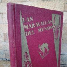 Collectionnisme Album: ANTIGUO ALBUM, LAS MARAVILLAS DEL MUNDO NESTLE 1932 - COMPLETO 40 SERIES EN TOTAL 480 CROMOS. Lote 238702000