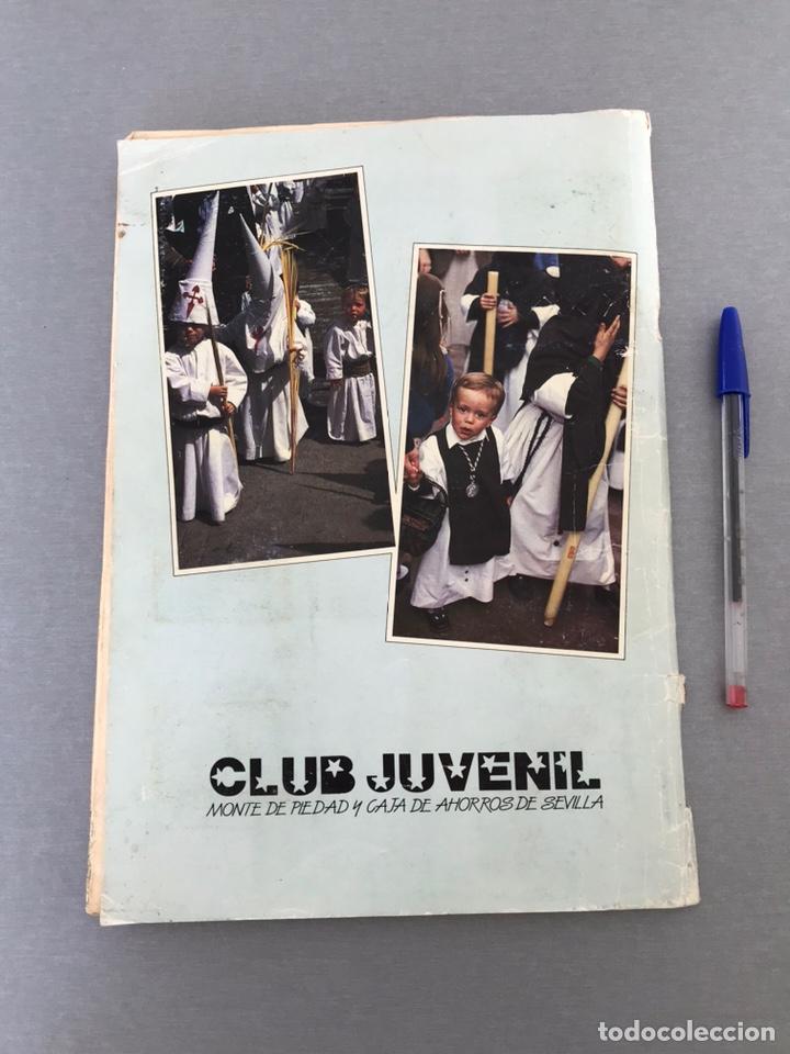 Coleccionismo Álbum: SEMANA SANTA DE SEVILLA. MAGNIFICO ALBUM DE CROMOS COMPLETO DEL CLUB JUVENIL DEL MONTE DE PIEDAD . - Foto 2 - 238689300