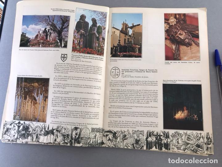 Coleccionismo Álbum: SEMANA SANTA DE SEVILLA. MAGNIFICO ALBUM DE CROMOS COMPLETO DEL CLUB JUVENIL DEL MONTE DE PIEDAD . - Foto 4 - 238689300
