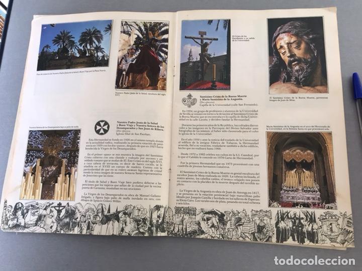 Coleccionismo Álbum: SEMANA SANTA DE SEVILLA. MAGNIFICO ALBUM DE CROMOS COMPLETO DEL CLUB JUVENIL DEL MONTE DE PIEDAD . - Foto 5 - 238689300