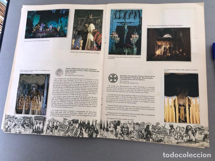Coleccionismo Álbum: SEMANA SANTA DE SEVILLA. MAGNIFICO ALBUM DE CROMOS COMPLETO DEL CLUB JUVENIL DEL MONTE DE PIEDAD . - Foto 6 - 238689300