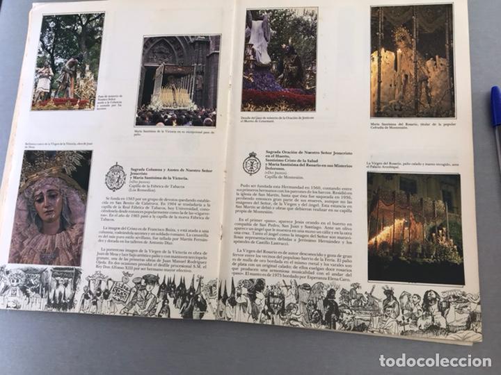 Coleccionismo Álbum: SEMANA SANTA DE SEVILLA. MAGNIFICO ALBUM DE CROMOS COMPLETO DEL CLUB JUVENIL DEL MONTE DE PIEDAD . - Foto 7 - 238689300