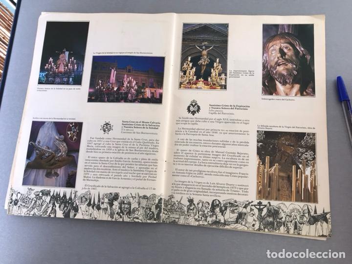Coleccionismo Álbum: SEMANA SANTA DE SEVILLA. MAGNIFICO ALBUM DE CROMOS COMPLETO DEL CLUB JUVENIL DEL MONTE DE PIEDAD . - Foto 8 - 238689300