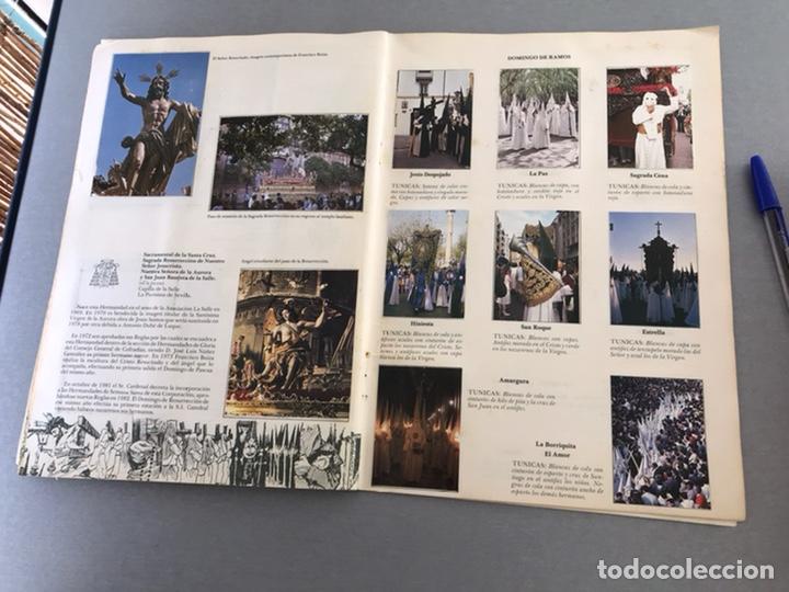 Coleccionismo Álbum: SEMANA SANTA DE SEVILLA. MAGNIFICO ALBUM DE CROMOS COMPLETO DEL CLUB JUVENIL DEL MONTE DE PIEDAD . - Foto 9 - 238689300