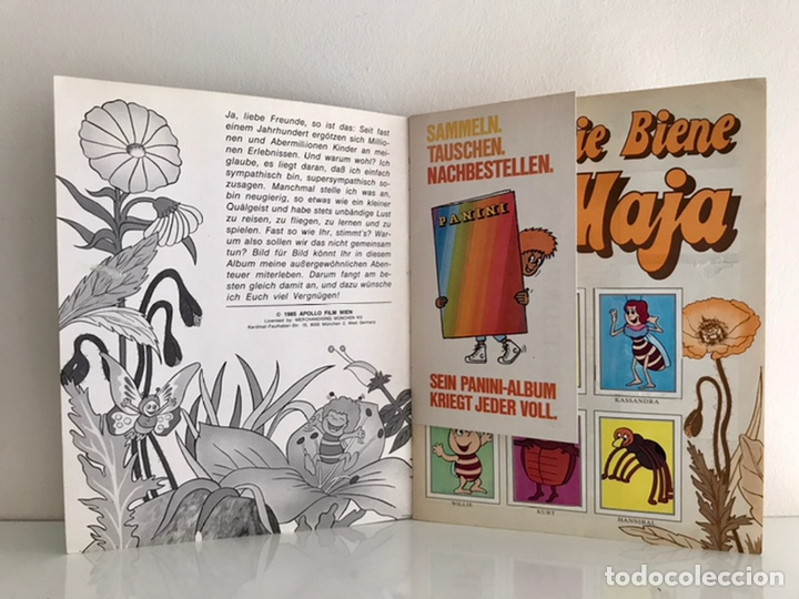 Coleccionismo Álbum: Álbum Cromos PANINI Die Biene Maja. Completo! Apollo Film 1985 - Foto 3 - 238765075