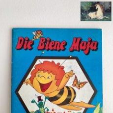 Coleccionismo Álbum: ÁLBUM CROMOS PANINI DIE BIENE MAJA. COMPLETO! APOLLO FILM 1985. Lote 238765075
