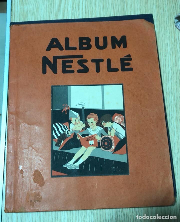 ÁLBUM DE CROMOS NESTLÉ, AÑOS 30, COMPLETO (Coleccionismo - Cromos y Álbumes - Álbumes Completos)