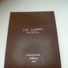 Coleccionismo Álbum: ALBUM CHOCOLATES FELICES. 1941. CUBA. 2DA. GUERRA MUNDIAL. 96 CROMOS. COMPLETO. VER FOTOS. Lote 240152775