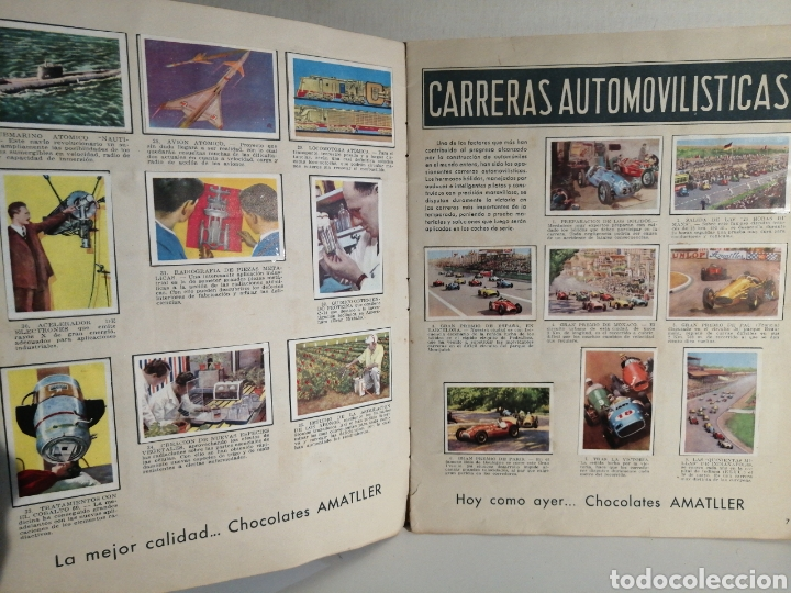 Coleccionismo Álbum: ALBUM NUMERO 1 CHOCOLATES AMATLLER COMPLETO - Foto 5 - 240275290