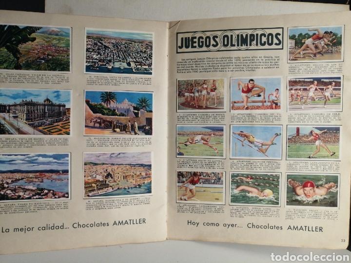 Coleccionismo Álbum: ALBUM NUMERO 1 CHOCOLATES AMATLLER COMPLETO - Foto 13 - 240275290