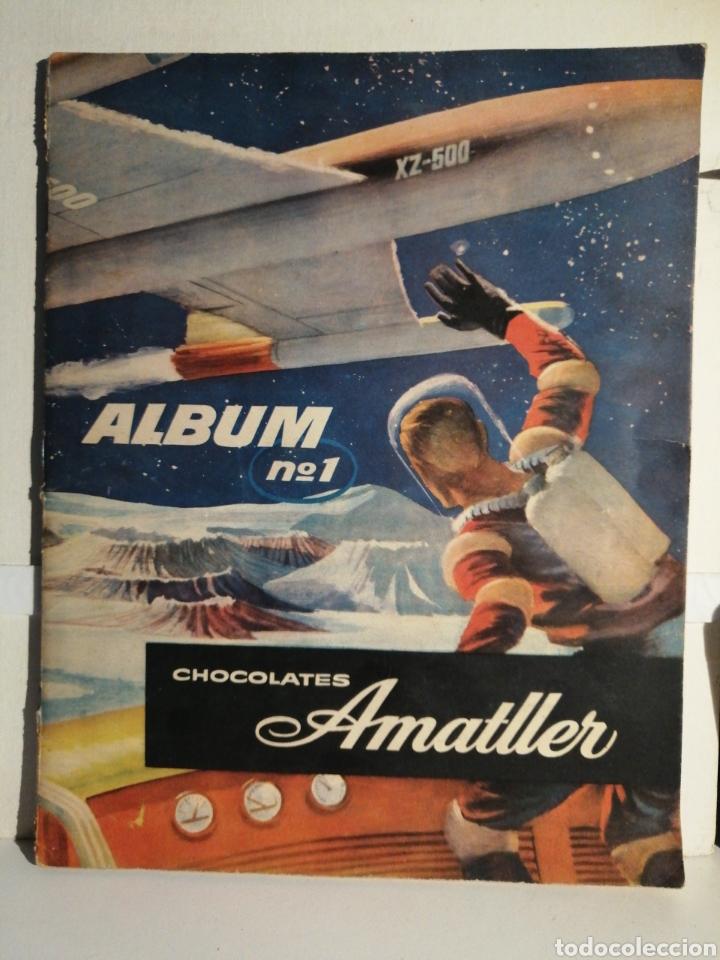 ALBUM NUMERO 1 CHOCOLATES AMATLLER COMPLETO (Coleccionismo - Cromos y Álbumes - Álbumes Completos)