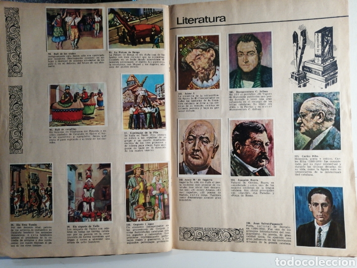 Coleccionismo Álbum: Album de cromos Completo TIERRAS CATALANAS Pentavin - Foto 9 - 240417380