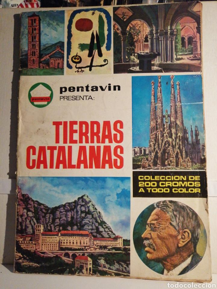ALBUM DE CROMOS COMPLETO TIERRAS CATALANAS PENTAVIN (Coleccionismo - Cromos y Álbumes - Álbumes Completos)