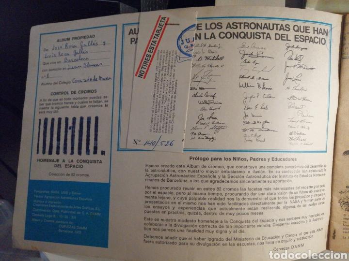 Coleccionismo Álbum: Albumes Cervezas DAMM Automovil 71 y Homenaje a la Conquista del Espacio COMPLETOS - Foto 7 - 241007375