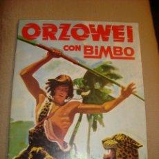 Coleccionismo Álbum: ALBUM ORZOWEI DE BIMBO 1978. COMPLETO EN MUY BUEN ESTADO. Lote 242033275