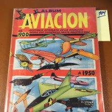Coleccionismo Álbum: HISTORIA DE LA AVIACIÓN DE 1900 A 1950 EDITA CLIPER, ALBUM DE CROMOS COMPLETO. VEAN FOTOS. Lote 242401715