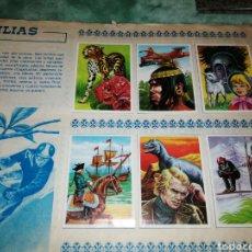 Coleccionismo Álbum: ALBUM COMPLETO MAGA, FAMILIAS, 1978 , 270 CROMOS, LEER DESCRIPCIÓN. Lote 242404165