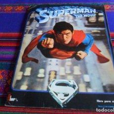 Coleccionismo Álbum: SUPERMAN 1 THE MOVIE COMPLETO 180 CROMOS CON EL PÓSTER. FHER 1978. CORRECTO ESTADO.. Lote 243121695