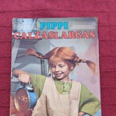 Coleccionismo Álbum: ALBUM DE CROMOS PIPPI CALZASLARGAS - FHER 1974- SERIE DE TV-INFANTIL-LIBRO DE CROMOS. Lote 243367080
