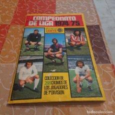 Coleccionismo Álbum: ED. ESTE LIGA 74/75 COMPLETO CON 315 CROMOS. Lote 243878225