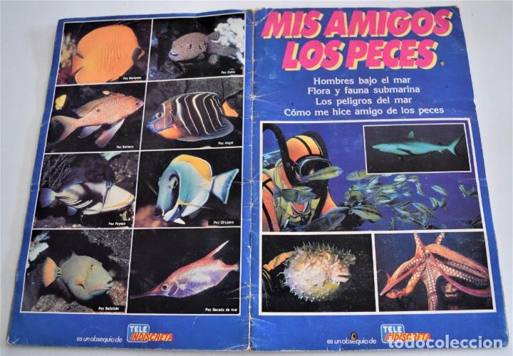 Coleccionismo Álbum: MIS AMIGOS LOS PECES - ALBUM COMPLETO - TELEINDISCRETA - Foto 2 - 244024880