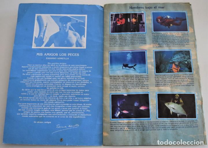 Coleccionismo Álbum: MIS AMIGOS LOS PECES - ALBUM COMPLETO - TELEINDISCRETA - Foto 3 - 244024880