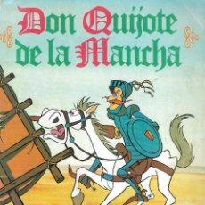 Coleccionismo Álbum: ALBUM DE CROMOS DON QUIJOTE DE LA MANCHA - DANONE - BARCELONA,1979 - COMPLETO. Lote 244495800