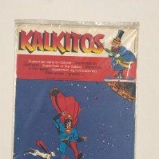 Coleccionismo Álbum: KALKITOS MAXI SUPERMAN. NUEVO A ESTRENAR. Lote 244680045