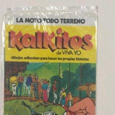 Collectionnisme Album: KALKITOS LA MOTO TODO TERRENO. NUEVO A ESTRENAR. Lote 244681610