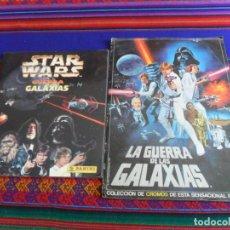 Coleccionismo Álbum: LA GUERRA DE LAS GALAXIAS COMPLETO PACOSA DOS 1977 Y STAR WARS PANINI 1997 INCOMPLETO.. Lote 244728810