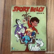 Coleccionismo Álbum: ALBUM DE SPORT BILLY. Lote 245237360