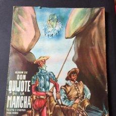 Coleccionismo Álbum: DON QUIJOTE DE LA MANCHA. EDICIONES ESPAÑA COMPLETO 342 CROMOS. 1947. Lote 245428975