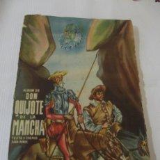 Coleccionismo Álbum: ÁLBUM DON QUIJOTE DE LA MANCHA. Lote 245648465