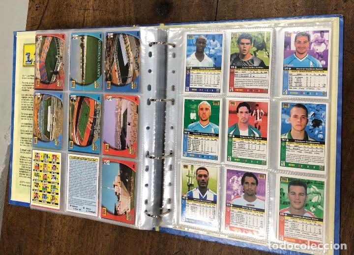 Coleccionismo Álbum: ALBUM LAS FICHAS DE LA LIGA 2003. 620 FICHAS + ALGUNO SUELTO - Foto 12 - 245782515