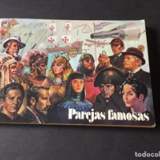 Coleccionismo Álbum: ALBUM PAREJAS FAMOSAS DE ORTIZ . COMPLETO. 90 CROMOS. Lote 245784945