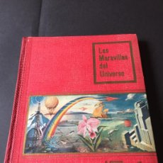 Coleccionismo Álbum: ALBUM NESTLE LAS MARAVILLAS DEL UNIVERSO 1 . COMPLETO.. Lote 245889385