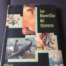 Coleccionismo Álbum: ALBUM NESTLE LAS MARAVILLAS DEL UNIVERSO 2 . COMPLETO.. Lote 245891045
