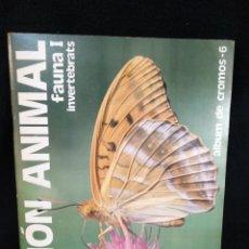 Coleccionismo Álbum: ÁLBUM, EL MON ANIMAL FAUNA I, COMPLETO. Lote 245944070