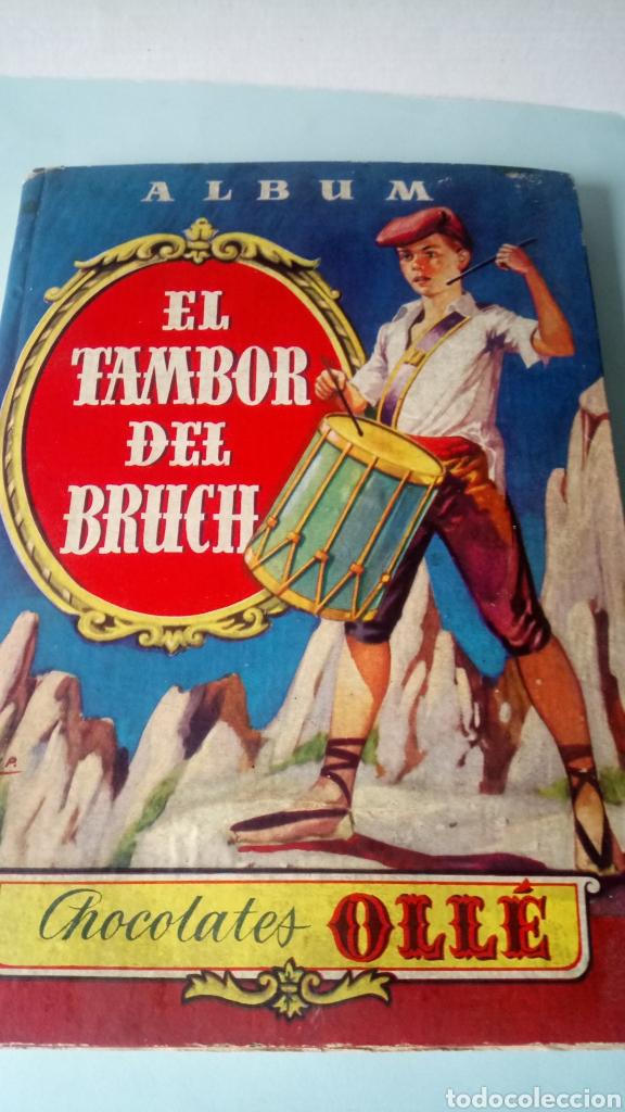 ÁLBUM COMPLETO EL TAMBOR DEL BRUCH. CHOCOLATES OLLÉ. AÑOS 60. (Coleccionismo - Cromos y Álbumes - Álbumes Completos)