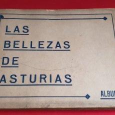 Coleccionismo Álbum: ALBUM DE CROMOS LAS BELLEZAS DE ASTURIAS ALBUM 1⁰ ESTA COMPLETO. Lote 246110080