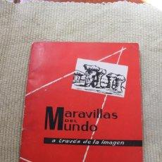 Coleccionismo Álbum: MARAVILLAS DEL MUNDO A TRAVES DE LA IMAGEN ALBUM 1º - COMPLETO. Lote 246217185