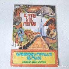 Coleccionismo Álbum: ANTIGUO ALBUM DE CROMOS EL MAS Y EL MENOS EDITORIAL RUIZ ROMERO AÑO 1975 LE FALTAN 6 CROMOS. Lote 246229305