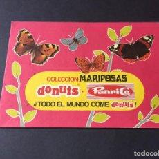 Collezionismo Álbum: ALBUM MARIPOSAS DONUTS PANRICO COMPLETO. Lote 246240770