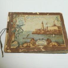 Collectionnisme Album: ALBUM DE BANDERAS DE LA FABRICA DE CIGARROS EL SIBONEY. HABANA. 1ª SERIE. 1903. NO CONTIENE ESTAMPAS. Lote 247080890